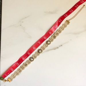 Chocker necklace loft brand